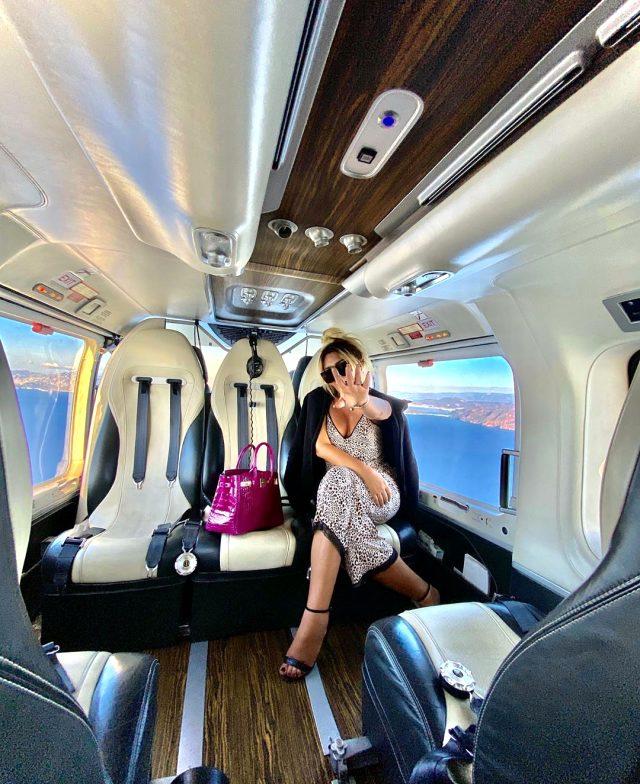Selin Ciğerci, 27 bin TL'ye helikopter kiralayıp tatile çıktı