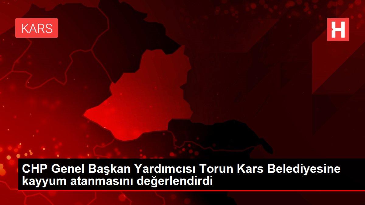 CHP Genel Başkan Yardımcısı Torun Kars Belediyesine kayyum atanmasını değerlendirdi