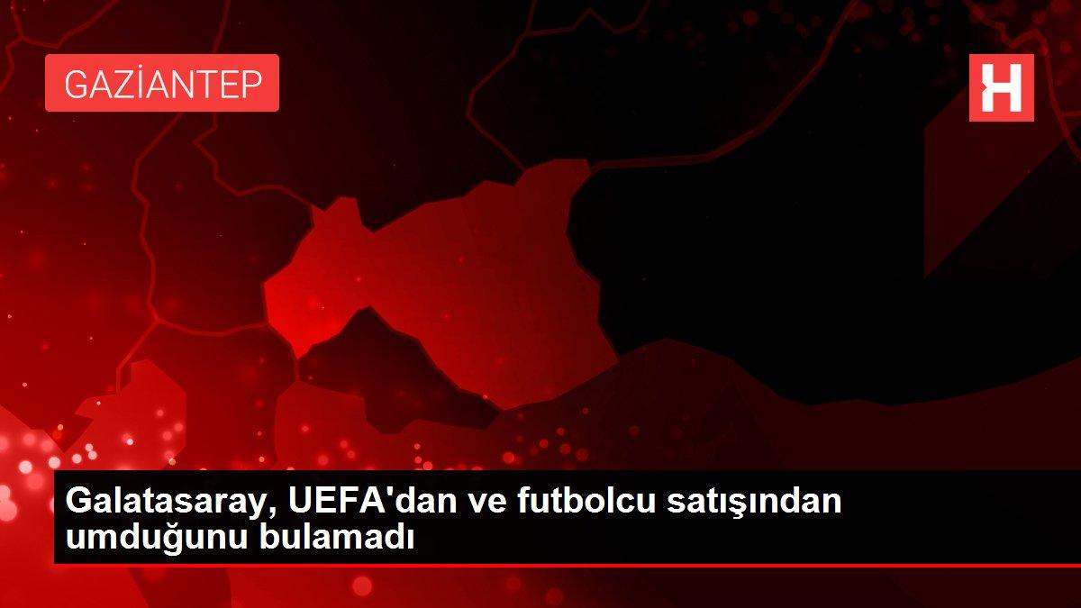 Galatasaray, UEFA'dan ve futbolcu satışından umduğunu bulamadı