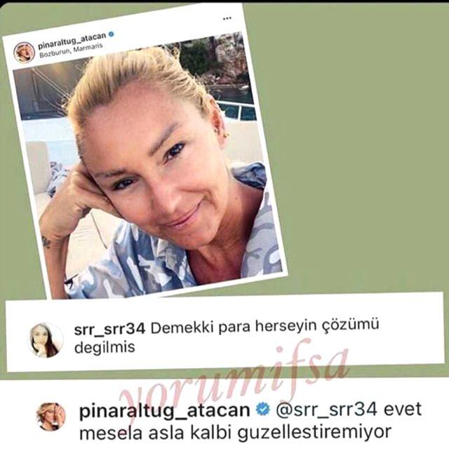 Pınar Altuğ'un makyajsız hali şaşırttı! Olumsuz yorumu affetmedi