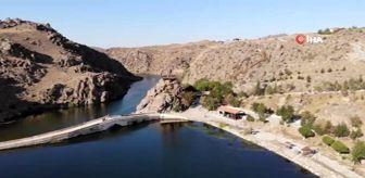 Köprüköy: Son Dakika | Selçuklulardan günümüze uzanan 'Tarihi Çeşnigir Köprüsü ve Kanyonu' yıllara meydan okuyor