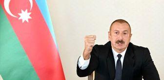 27 Eylül: Aliyev müjdeyi verdi: İşgal altındaki Madagiz'e Azerbaycan bayrağını diktik