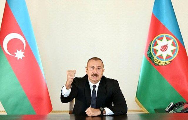 Azerbaycan Cumhurbaşkanı Aliyev, Ermenistan'a ateşkes için 3 şart koştu