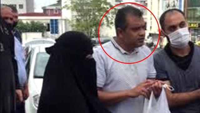 Esenyurt'ta kadını zorla taksiye bindirmeye çalışan Suriyeliye çevredekiler engel oldu