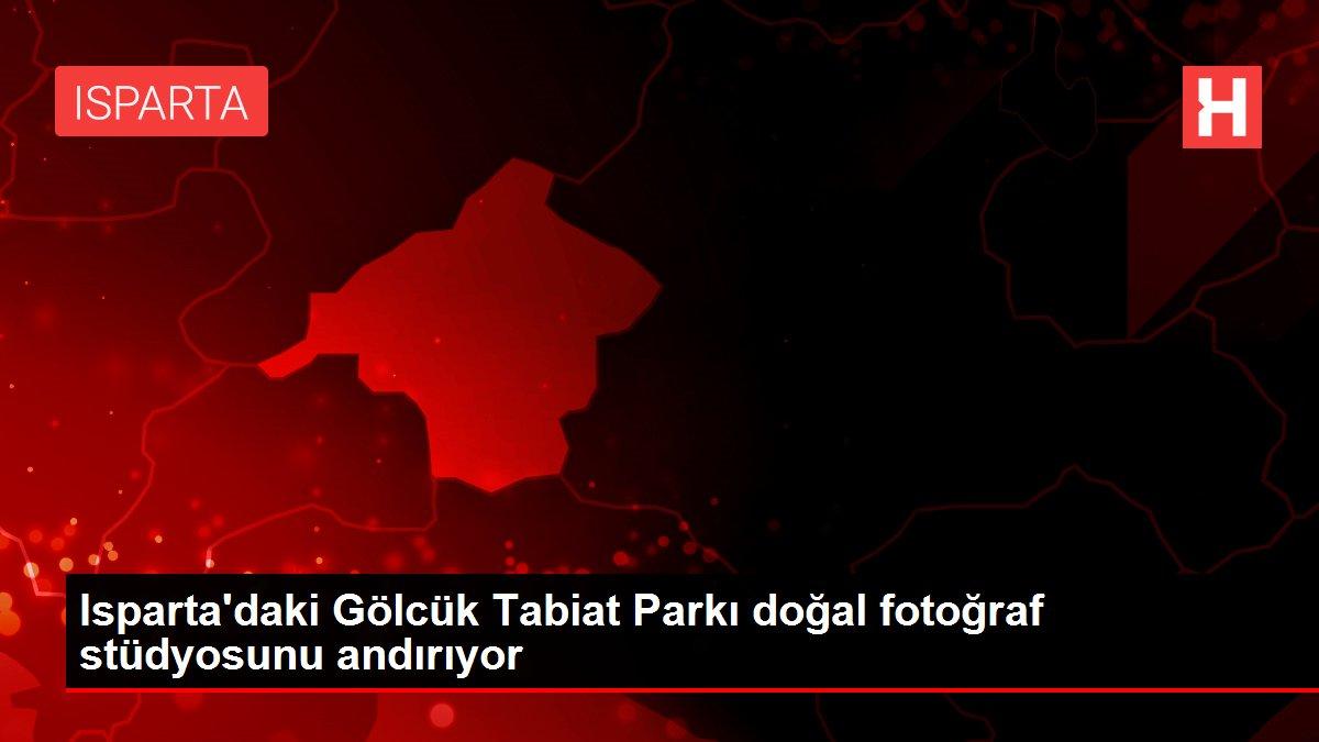 Isparta'daki Gölcük Tabiat Parkı doğal fotoğraf stüdyosunu andırıyor