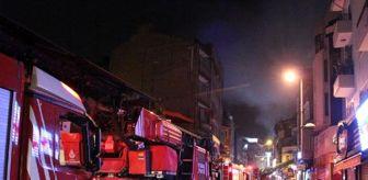 Sinan Paşa: Son dakika... Beşiktaş'ta dönercide korkutan yangın