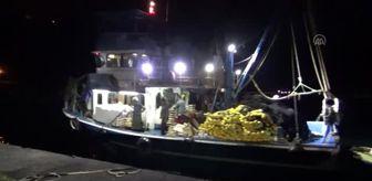Amasra: Balıkçıların yüzü palamutla güldü