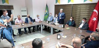 Zeynel Abidin Beyazgül: Beyazgül'den Şanlıurfaspor yönetimine ziyaret