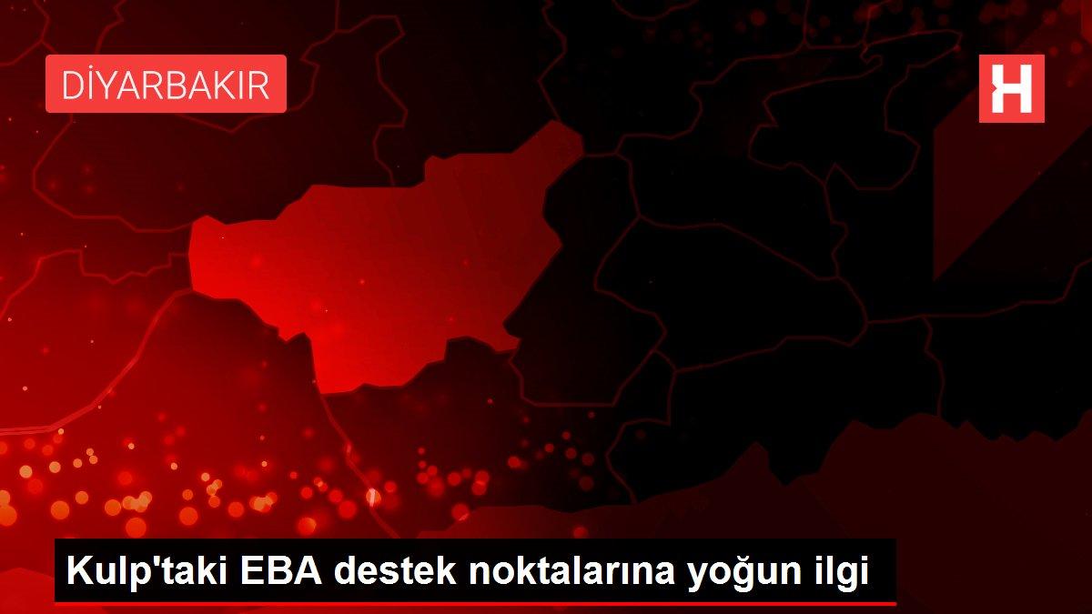 Kulp'taki EBA destek noktalarına yoğun ilgi