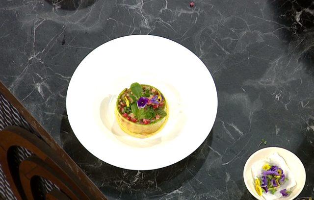 Masterchef yemekleri! Sebzeli tartar nasıl yapılır? Sebzeli tartar yemeği tarifi!