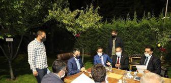 Sünni: Son dakika yaşam: Milletvekili Arvas, Tarım ve Orman Bakanı Pakdemirli ile görüştü, Van'a davet etti