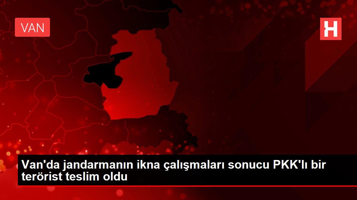 Son dakika haber... Van'da jandarmanın ikna çalışmaları sonucu PKK'lı bir terörist teslim oldu