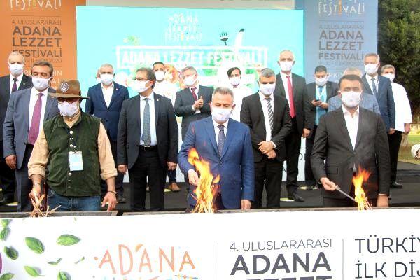 Adana Uluslararası Lezzet Festivali'nin 'mangal ateşi' yandı