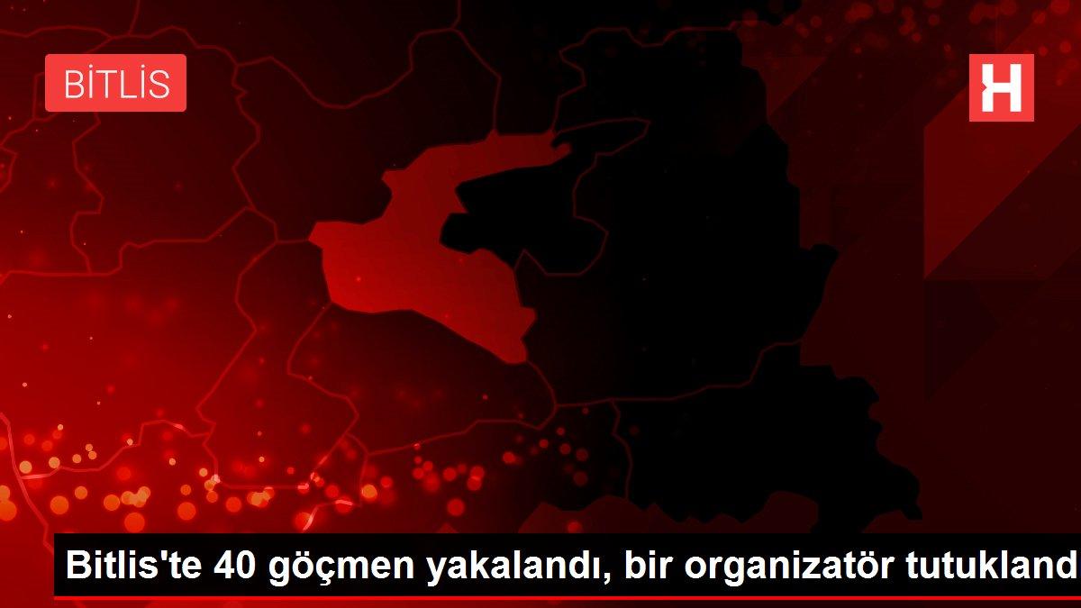 Bitlis'te 40 göçmen yakalandı, bir organizatör tutuklandı