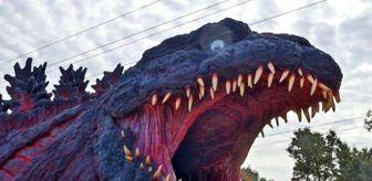 Godzilla: Dünyanın ilk gerçek boyutlu Godzilla parkı Japonya'da açılıyor