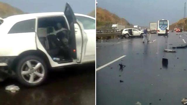 İstanbul'da korkunç kaza! Boğazına bariyer saplanan kişinin başı gövdesinden koptu