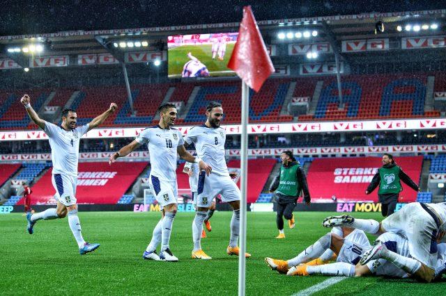 Norveç elenince Alexander Sörloth ve Erling Haaland'ın EURO 2020 rüyası da bitti