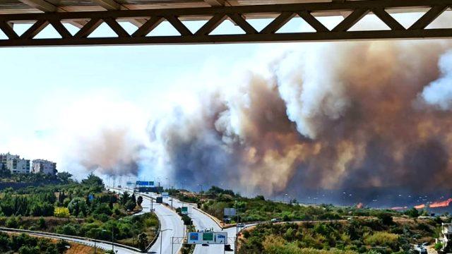 Son Dakika: Hatay'da orman yangını! Alevler yerleşim yerlerine sıçradı,  evler tahliye edildi - Hatay