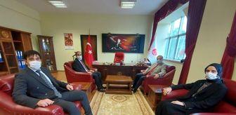 Mehmet Türköz: Kaymakam Türköz cumhuriyet savcıları ile bir araya geldi