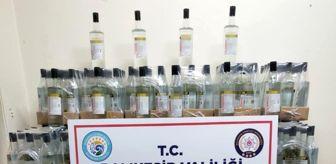 Sahte Rakı: Bandırma'da faturasız etil alkol ele geçirildi