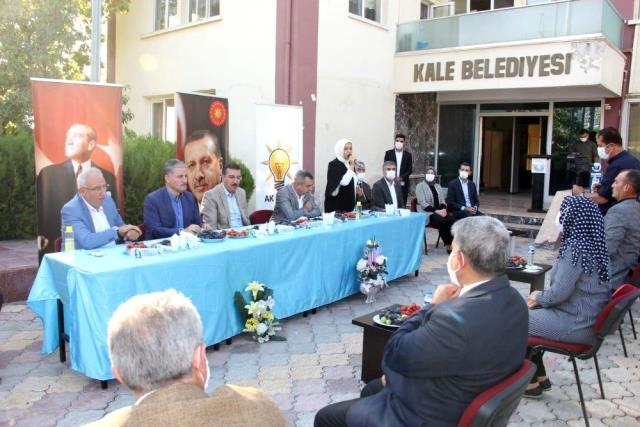 AK Parti heyetinden 3 ilçede toplantı