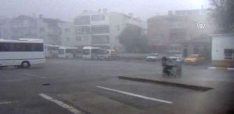 Edremit Körfezi: Ayvalık'ta şiddetli yağış ve lodos etkili oldu - BALIKESİR
