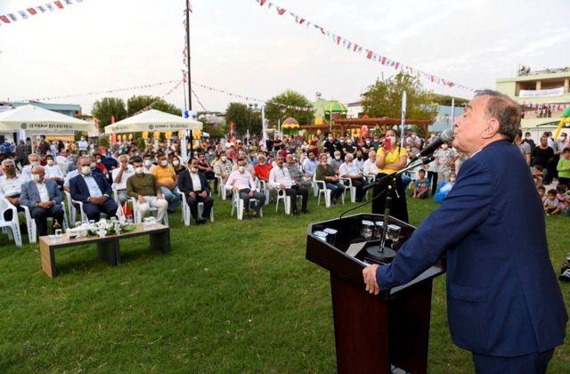 Çok amaçlı Sarıhamzalı parkı açıldı