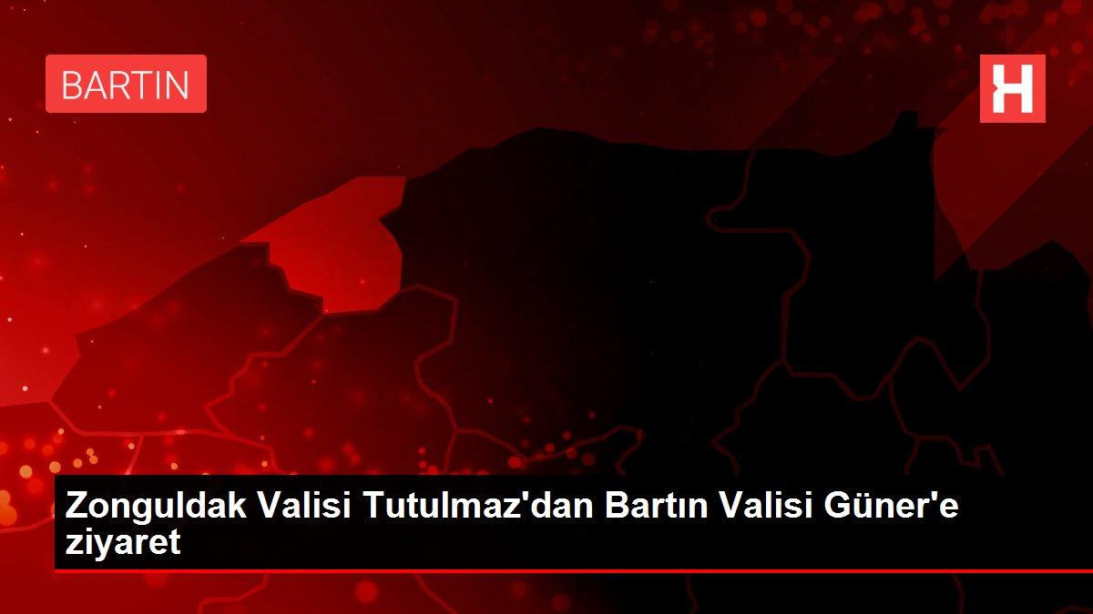Zonguldak Valisi Tutulmaz'dan Bartın Valisi Güner'e ziyaret