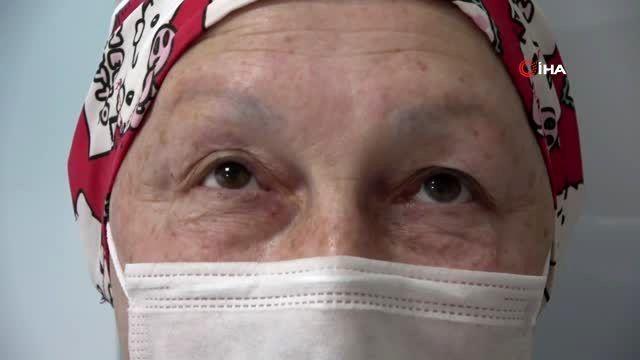 Emekli hemşire doğru tedavi sayesinde 3. evre meme kanserini yendi