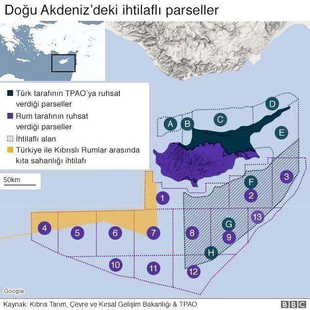 Fransa ve Almanya'dan Türkiye'ye Doğu Akdeniz suçlaması! Türkiye'ye bir hafta süre verildi!