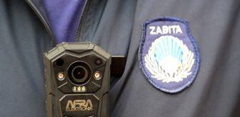 Denizli: Pamukkale Belediyesinden zabıtalar yaka kamerası