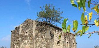 Kaçak Kazı: Defineciler, tarihi kiliseyi talan etti
