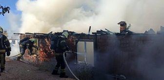Denizli: Evleri yanan Özgül ailesinin ilk misafiri Başkan Zolan oldu