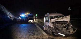 Değirmendere: İki otomobil çarpıştı: 4 ölü, 4 yaralı