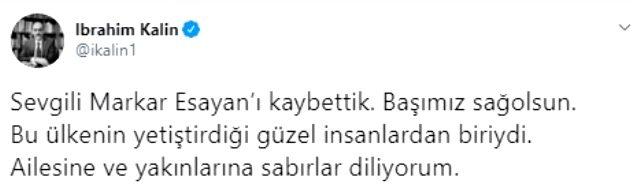 Son Dakika: AK Parti İstanbul Milletvekili Markar Esayan hayatını kaybetti