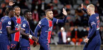 Kylian Mbappe: Paris Saint Germain, Nimes'i 4-0 mağlup etti