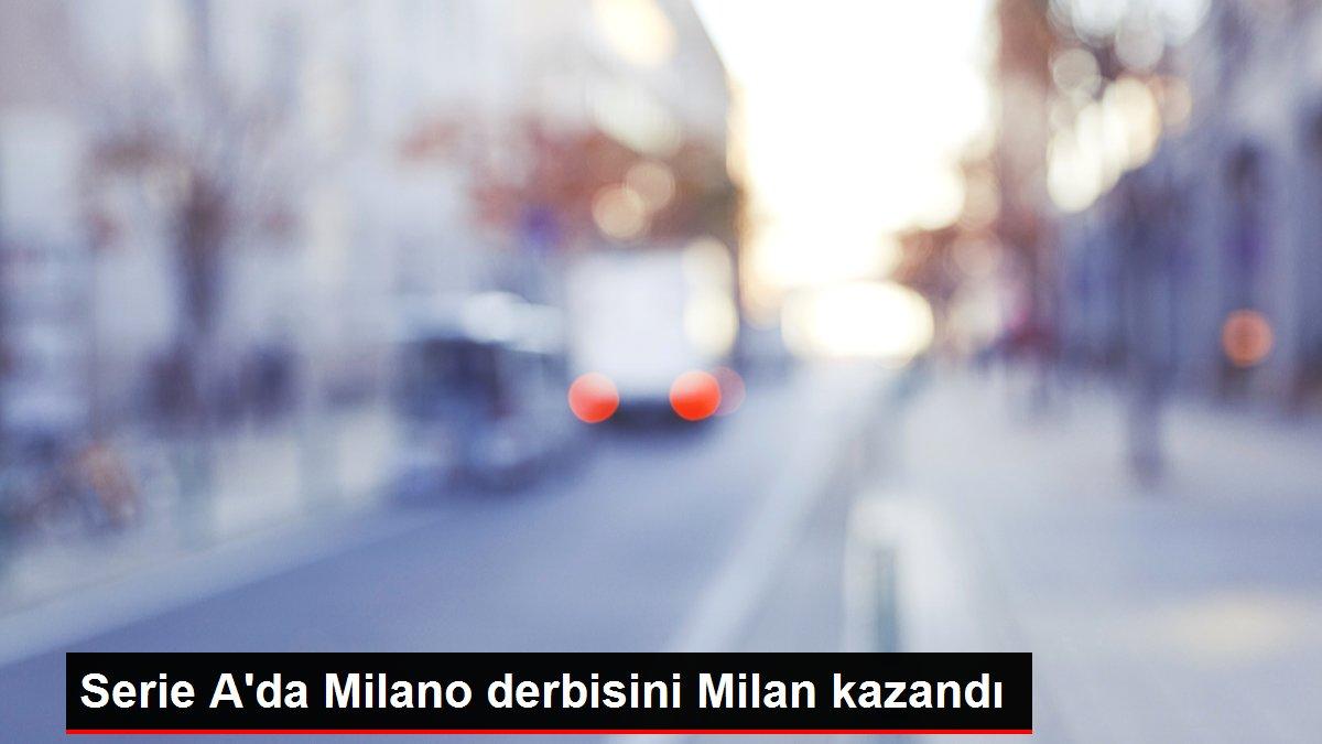 Son dakika haberi | Serie A'da Milano derbisini Milan kazandı