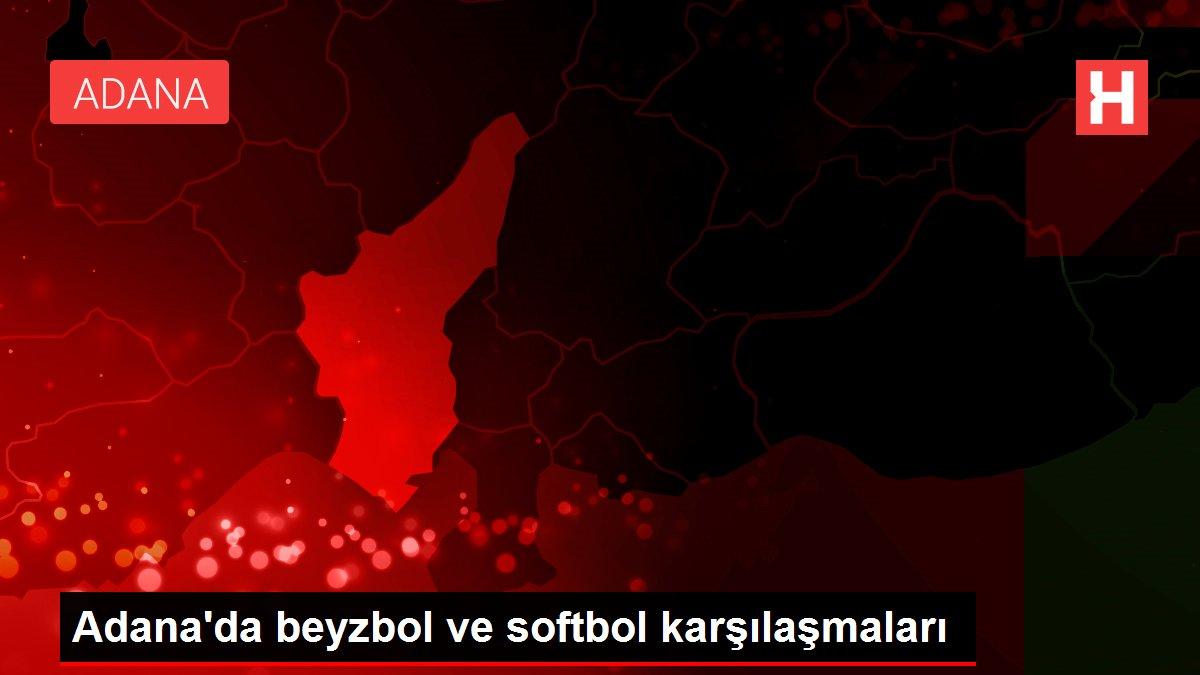 Adana'da beyzbol ve softbol karşılaşmaları