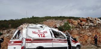 Gölpazarı: Son dakika haberi... Bilecik'te hastaya giden ambulans kaza yaptı