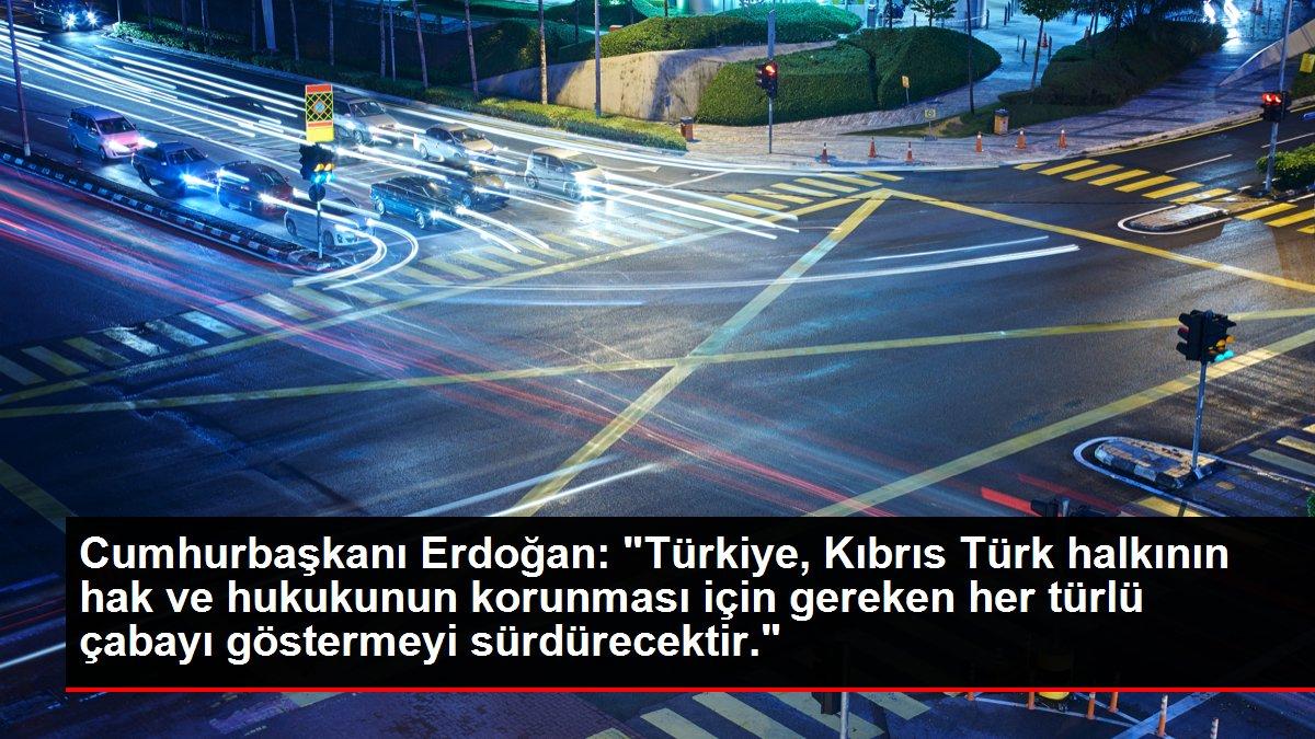 Son dakika haberleri... Cumhurbaşkanı Erdoğan: