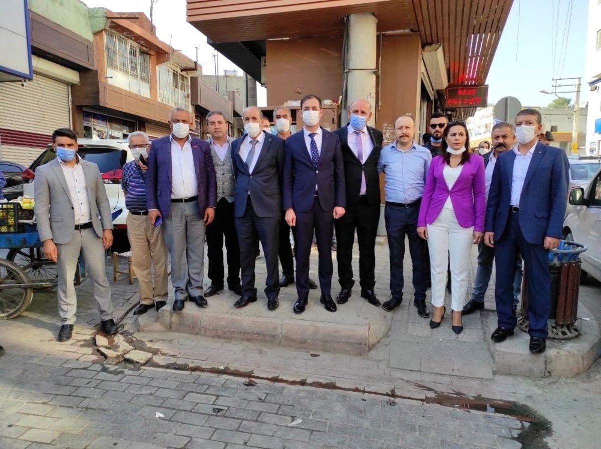 MHP Ergani'de yeni hizmet binasını açtı