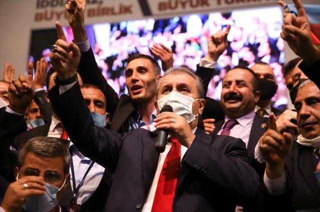 Mustafa Destici, BBP Genel Başkanlığı'na yeniden seçildi