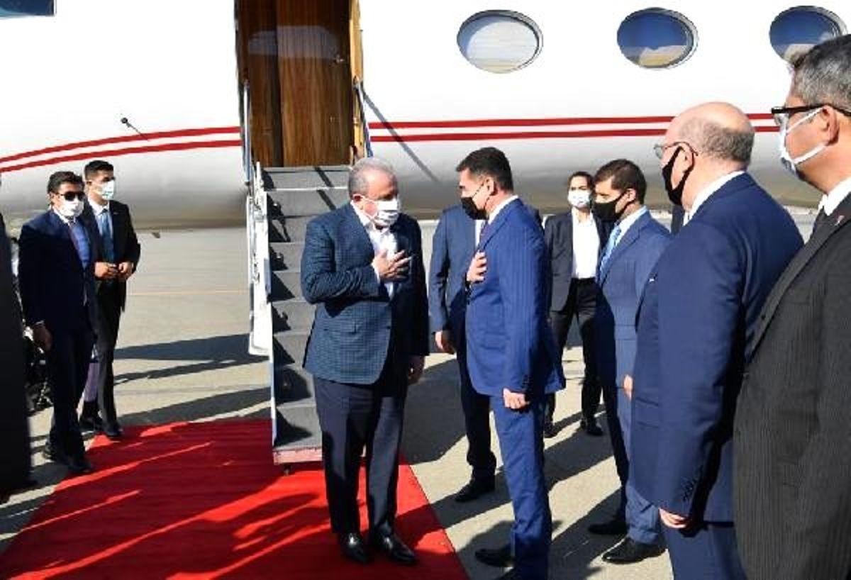 TBMM Başkanı Şentop, Azerbaycan'da
