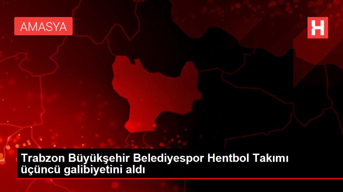 Trabzon Büyükşehir Belediyespor Hentbol Takımı üçüncü galibiyetini aldı