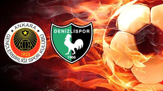 Gençlerbirliği - Yukatel Denizlispor Süper Lig maçı ne zaman, nerede, saat kaçta başlayacak? Hangi kanalda yayınlanacak?
