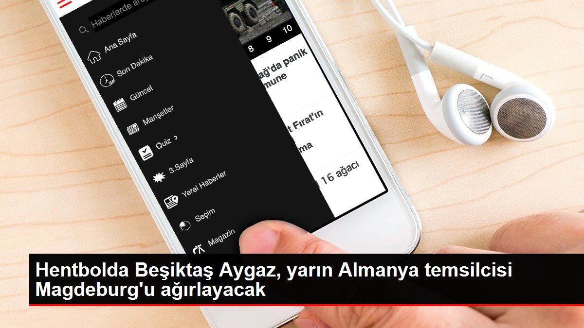 Hentbolda Beşiktaş Aygaz, yarın Almanya temsilcisi Magdeburg'u ağırlayacak