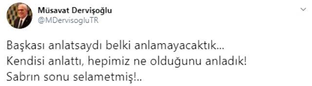 İYİ Parti Grup Başkanvekili Müsavat Dervişoğlu'ndan Ümit Özdağ'a jet yanıt: Niyetiniz ve pazarlıklarınız ifşa olmuştur