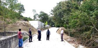 Gökçeler: Köy yollarında iyileştirme çalışmaları