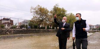 Havza: Düzce'deki Asar Suyu Deresi'nde peyzaj çalışmaları