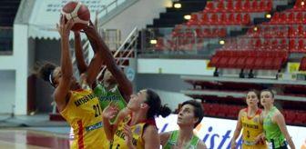 Dikmen: Bellona Kayseri Basketbol - Nesibe Aydın: 62-70